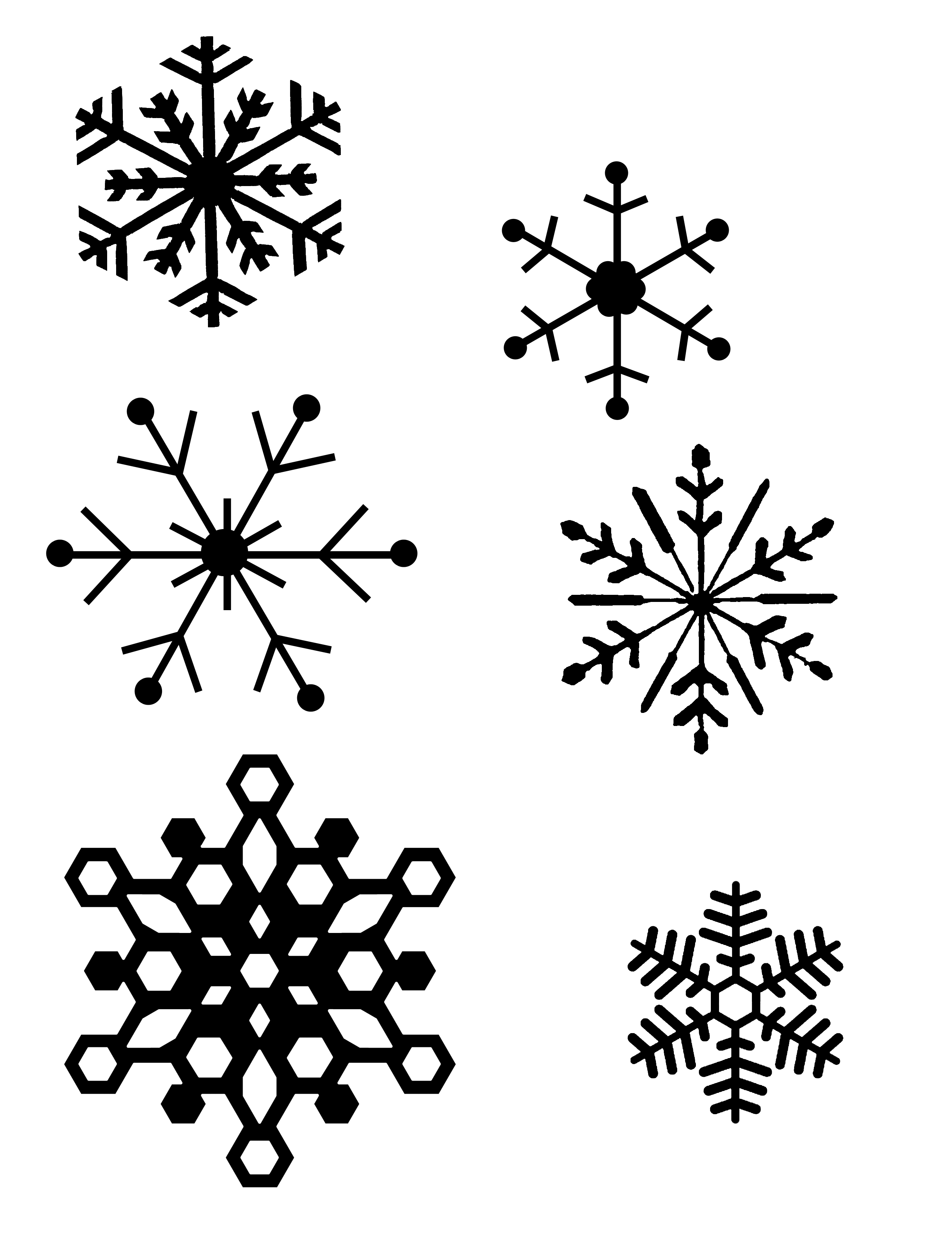 Free Snowflake Cliparts Easy Download Free Clip Art Free