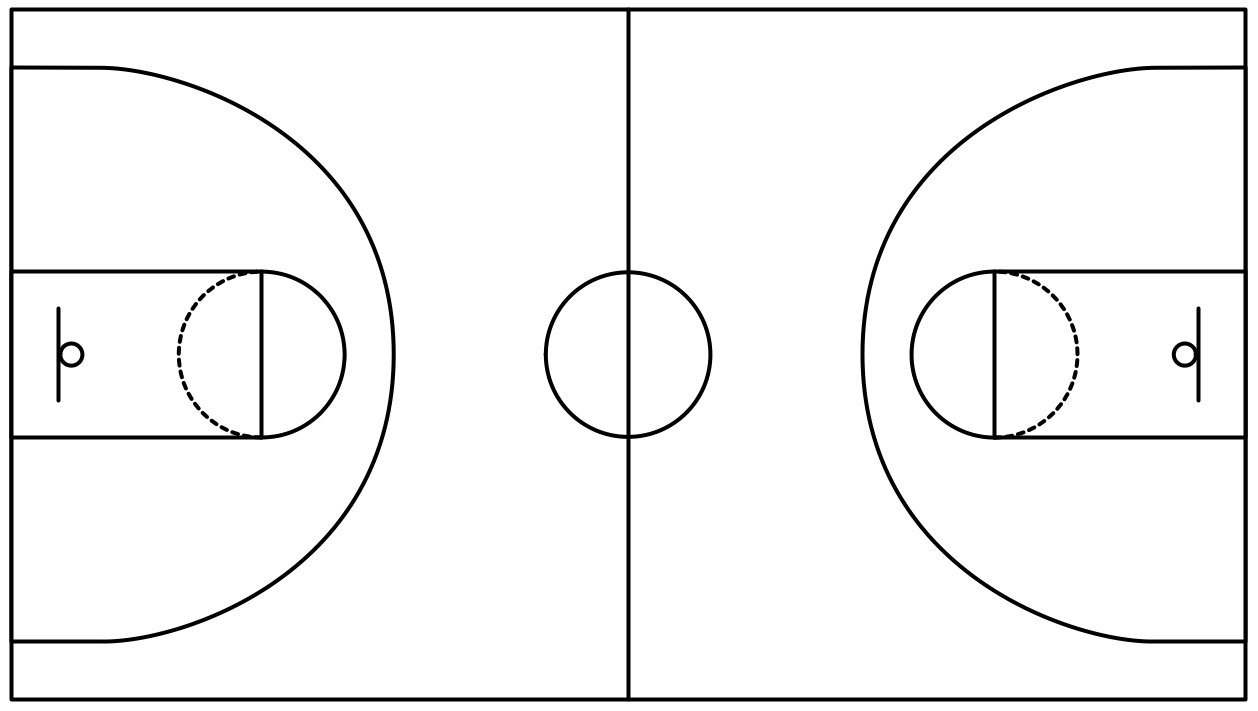 Free Basketball Court Clipart Black And White Download Free Clip Art Free Clip Art On Clipart Library