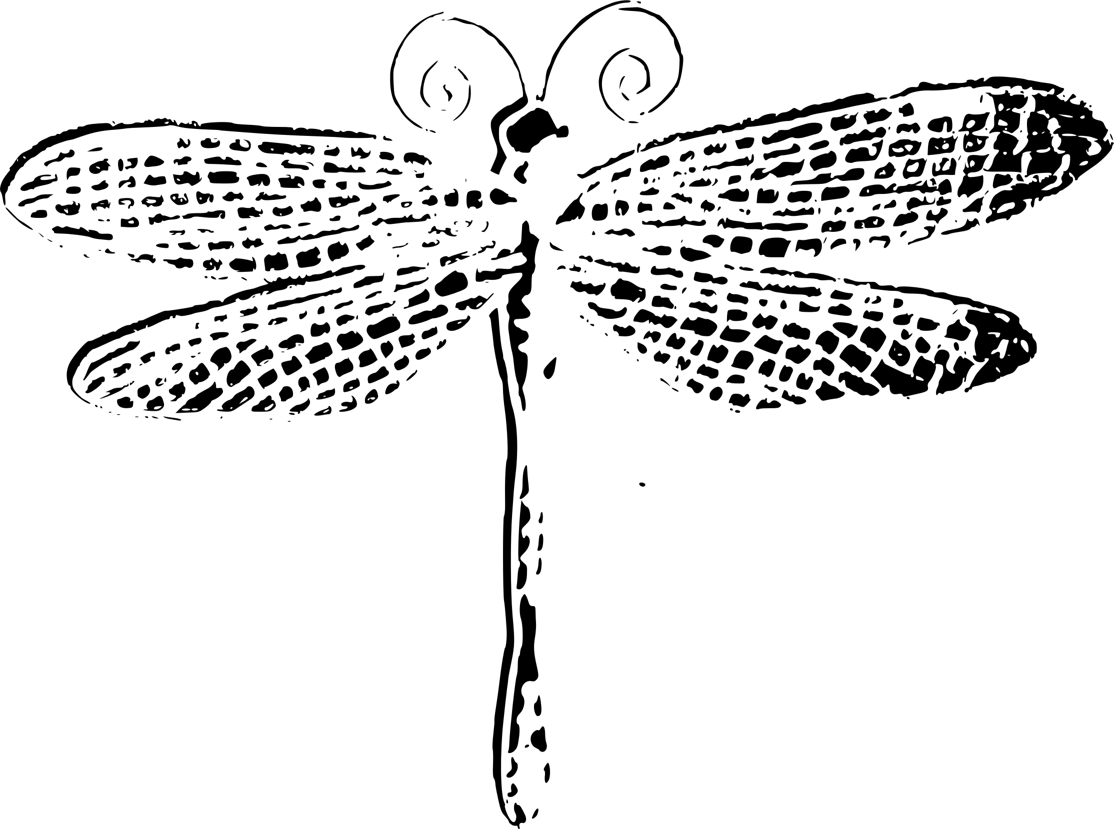 Free Dragonfly Outline Cliparts Download Free Clip Art
