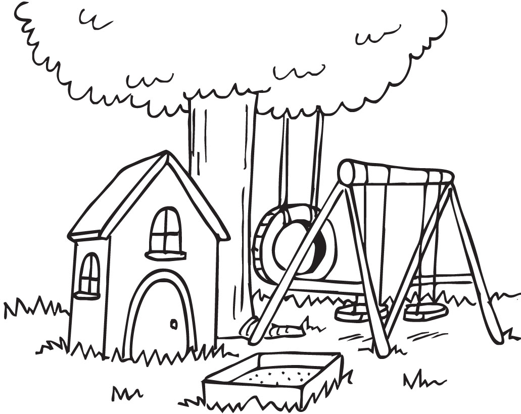 Free Cliparts Outdoor Backyard Download Free Clip Art