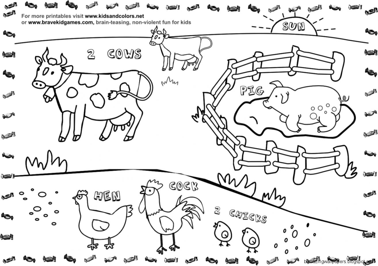 Free Kindergarten Farm Cliparts Download Free Clip Art