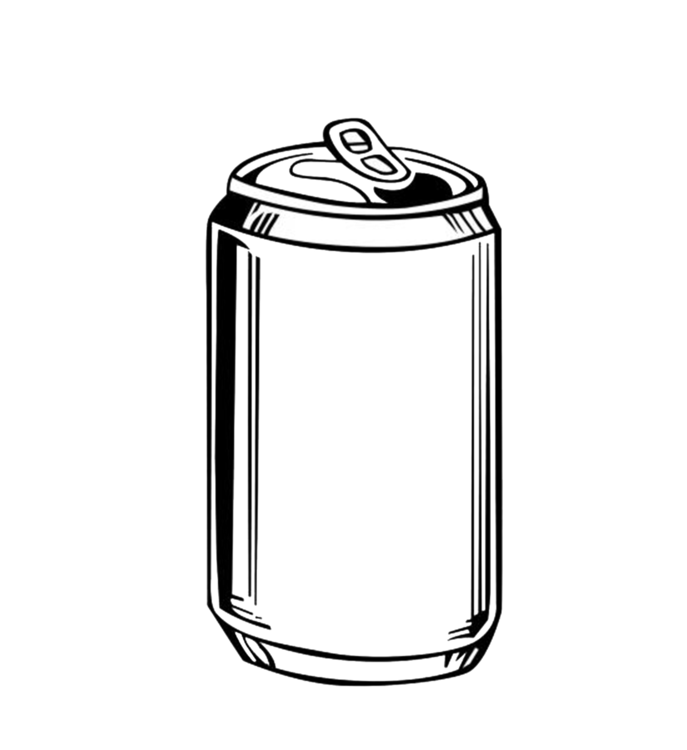 Beer Can Clipart