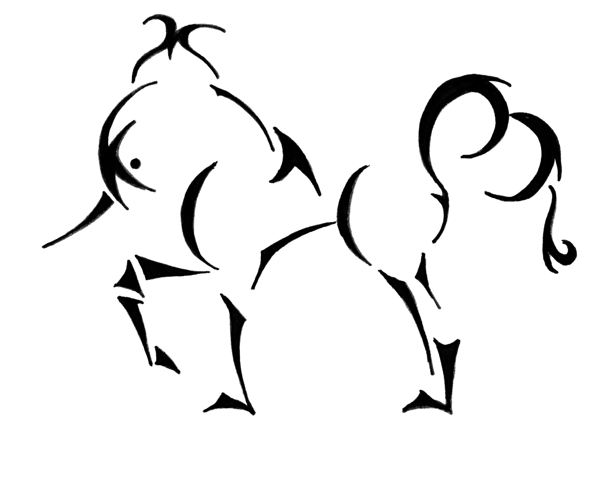 Free Elegant Unicorn Cliparts Download Free Clip Art