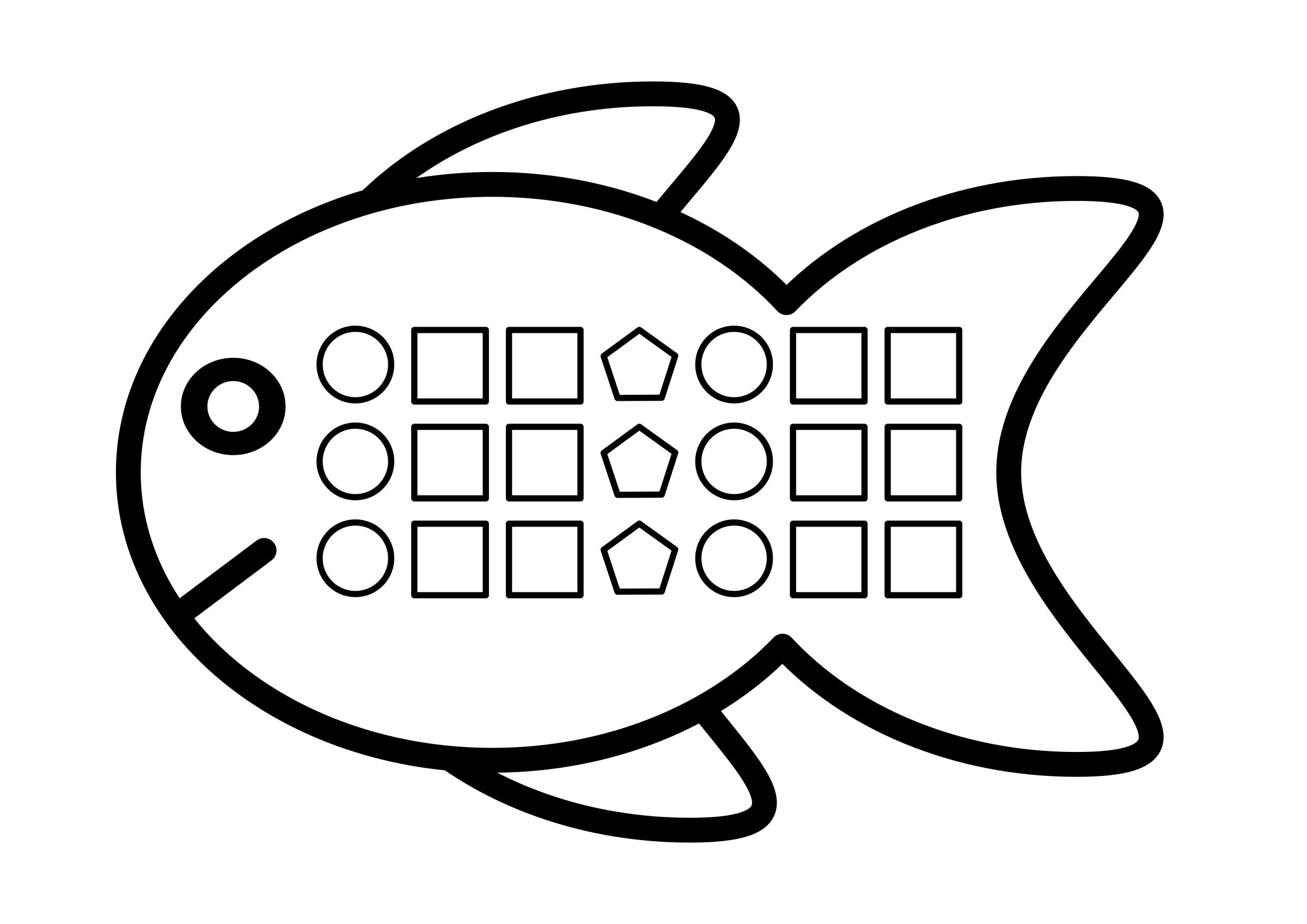 Free Fish Shape Cliparts Download Free Clip Art Free