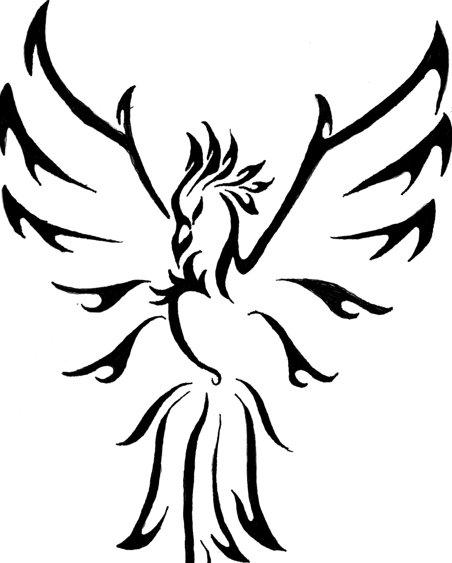 Free Black Phoenix Cliparts Download Free Clip Art Free