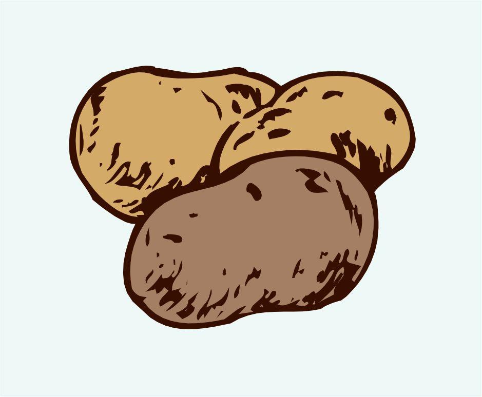 Clipart Potato