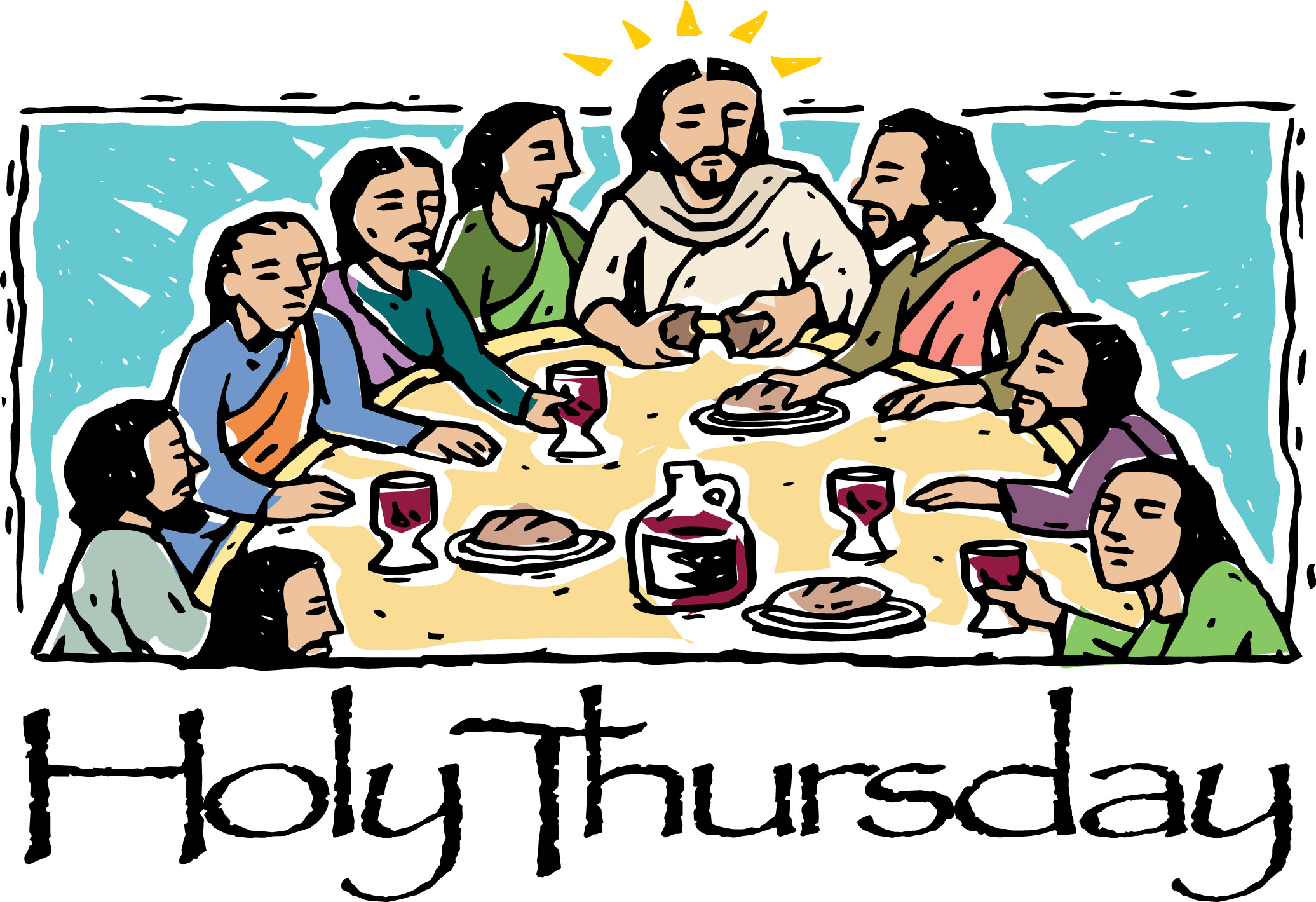 Free Last Supper Cliparts Download Free Clip Art Free