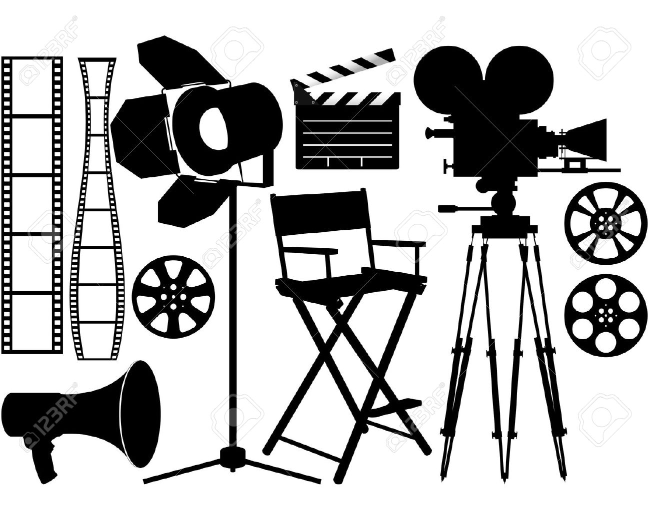 Film Industry Clipart