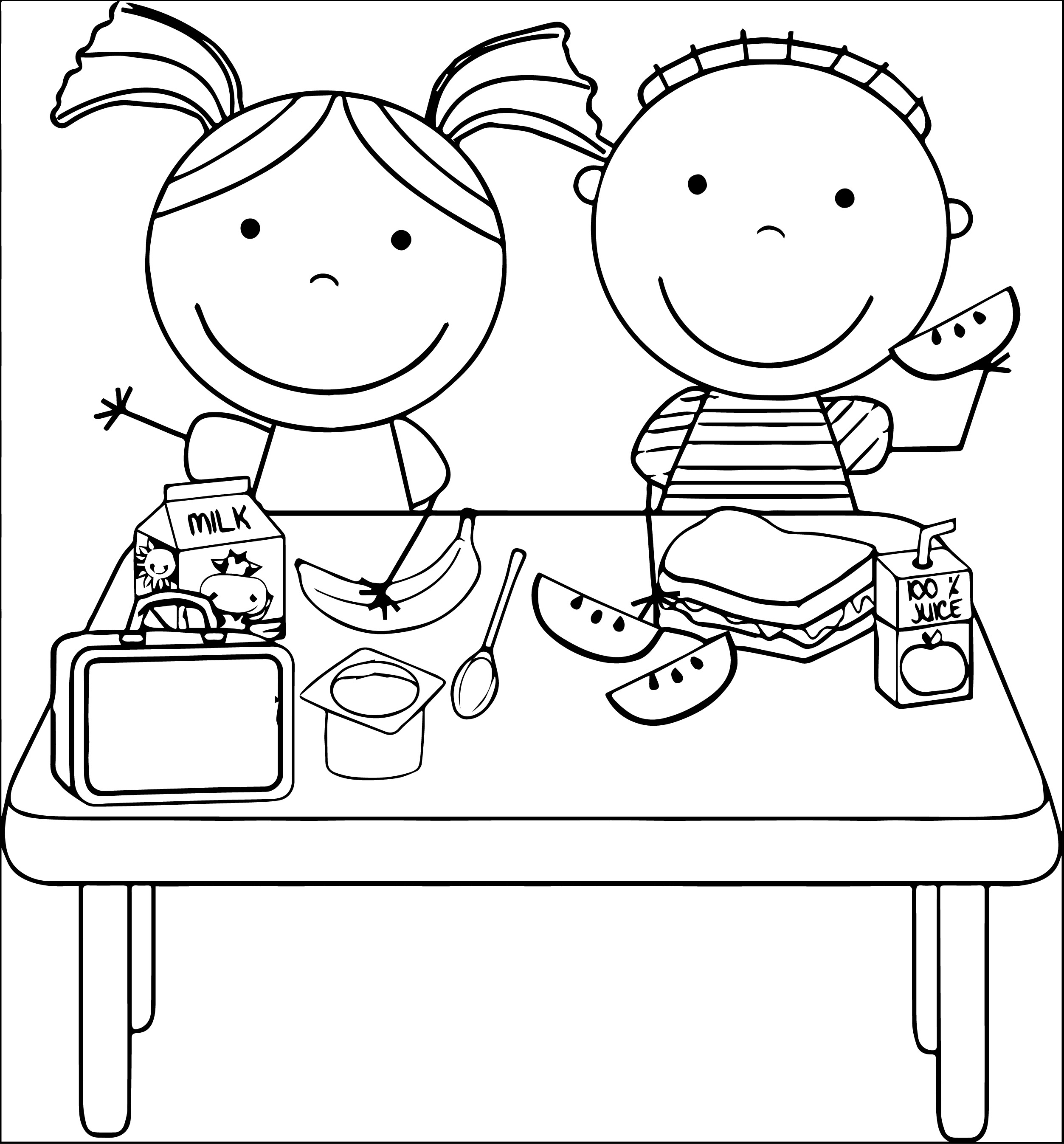 Free Eating Lunch Cliparts Download Free Clip Art Free
