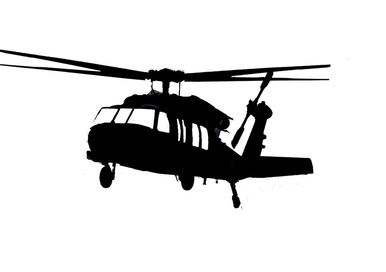 Black Hawk Clipart
