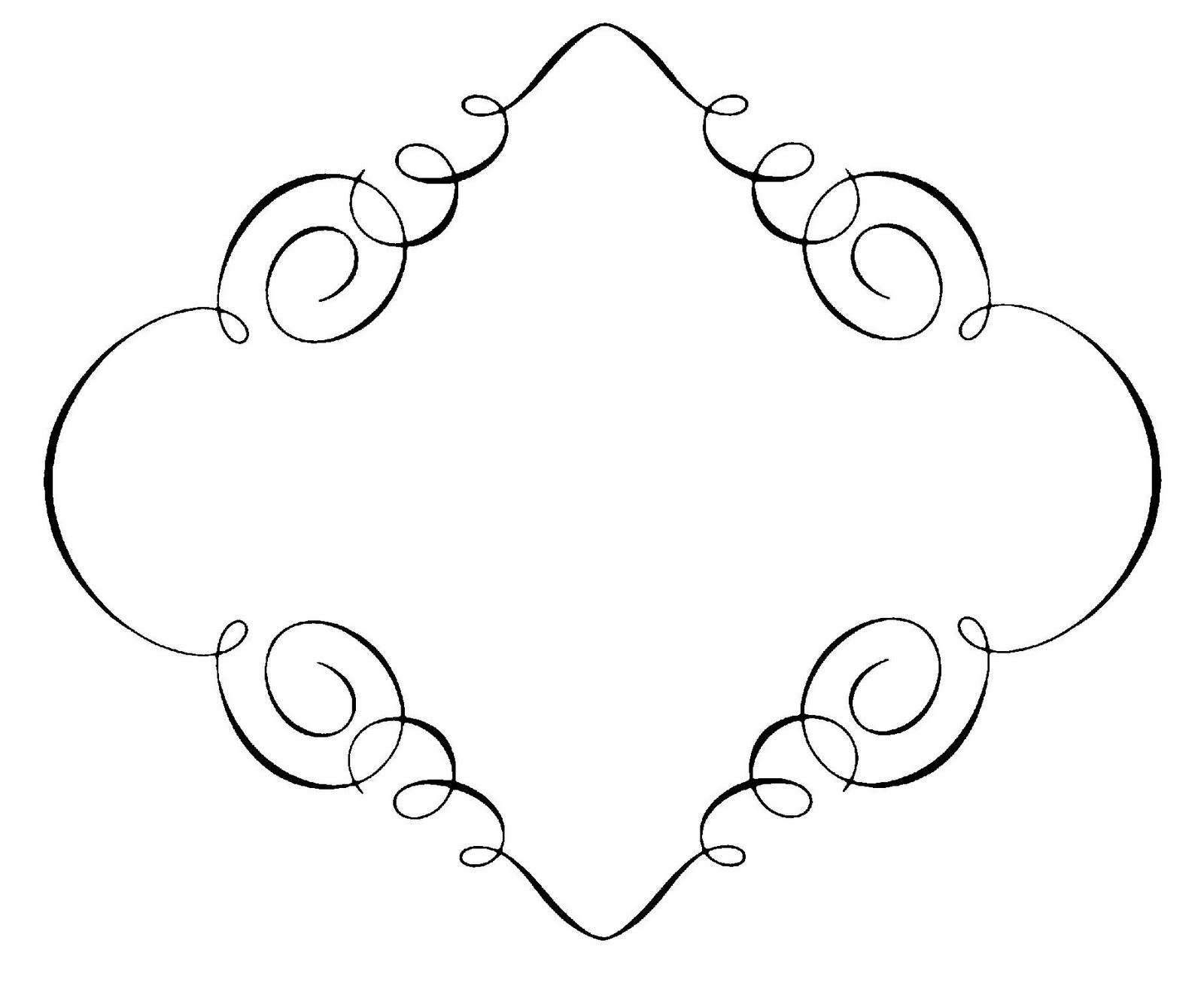 Free Decorative Frame Cliparts Download Free Clip Art