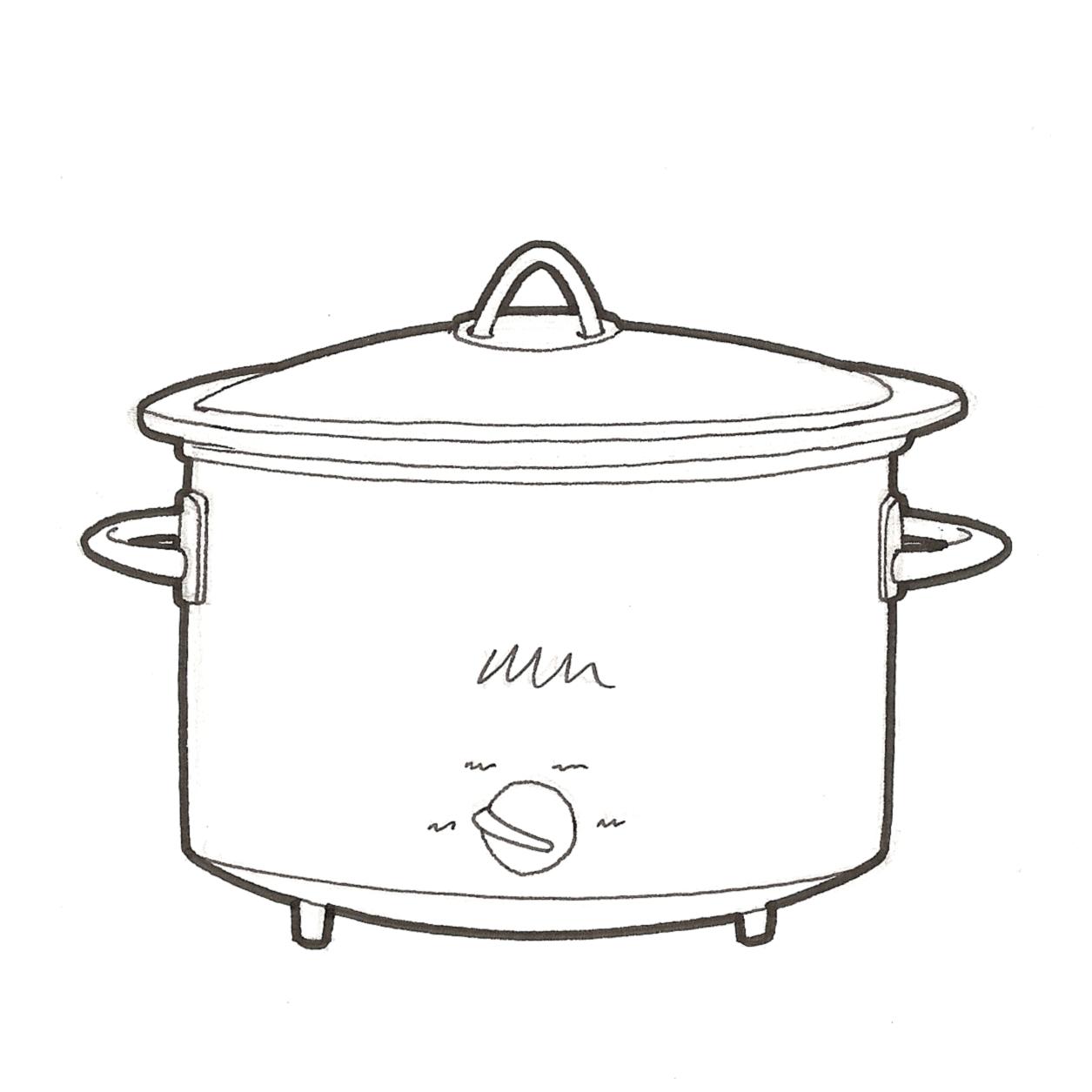 Crock Pot Drawing