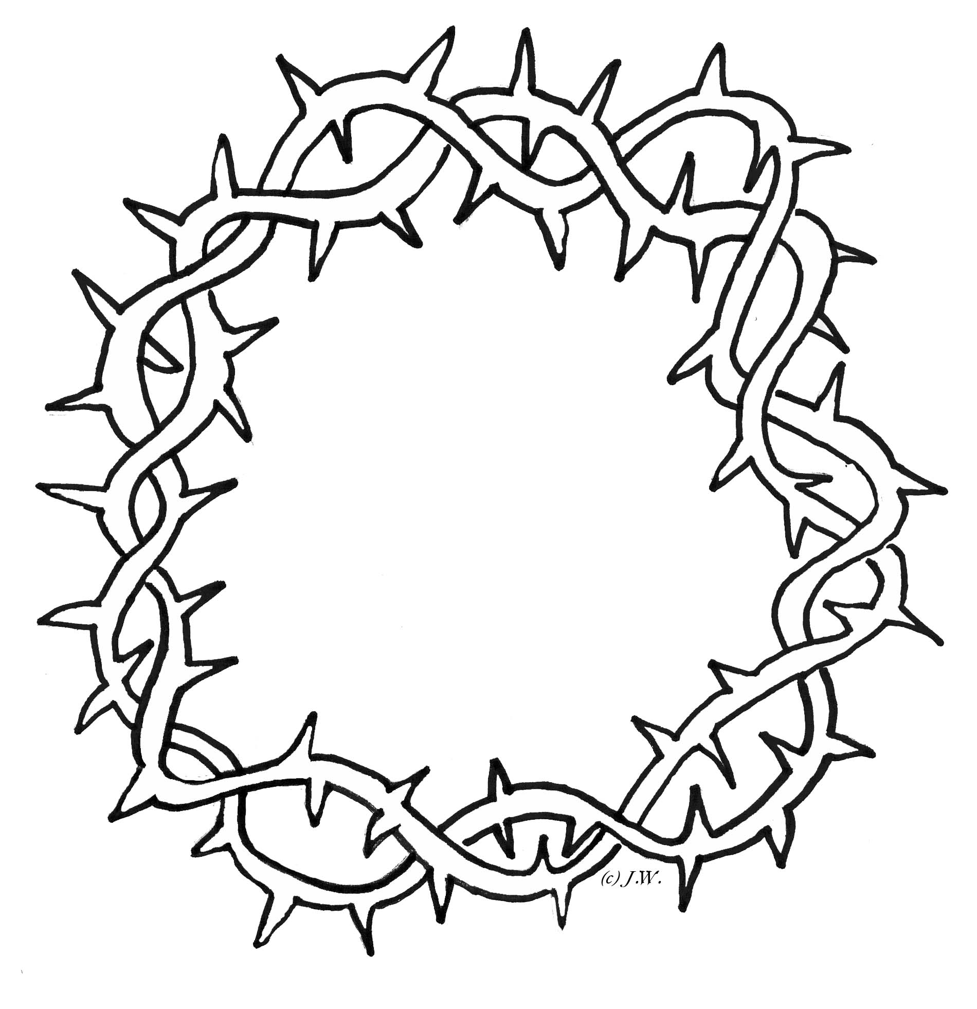 Free Thorn Crown Cliparts Download Free Clip Art Free