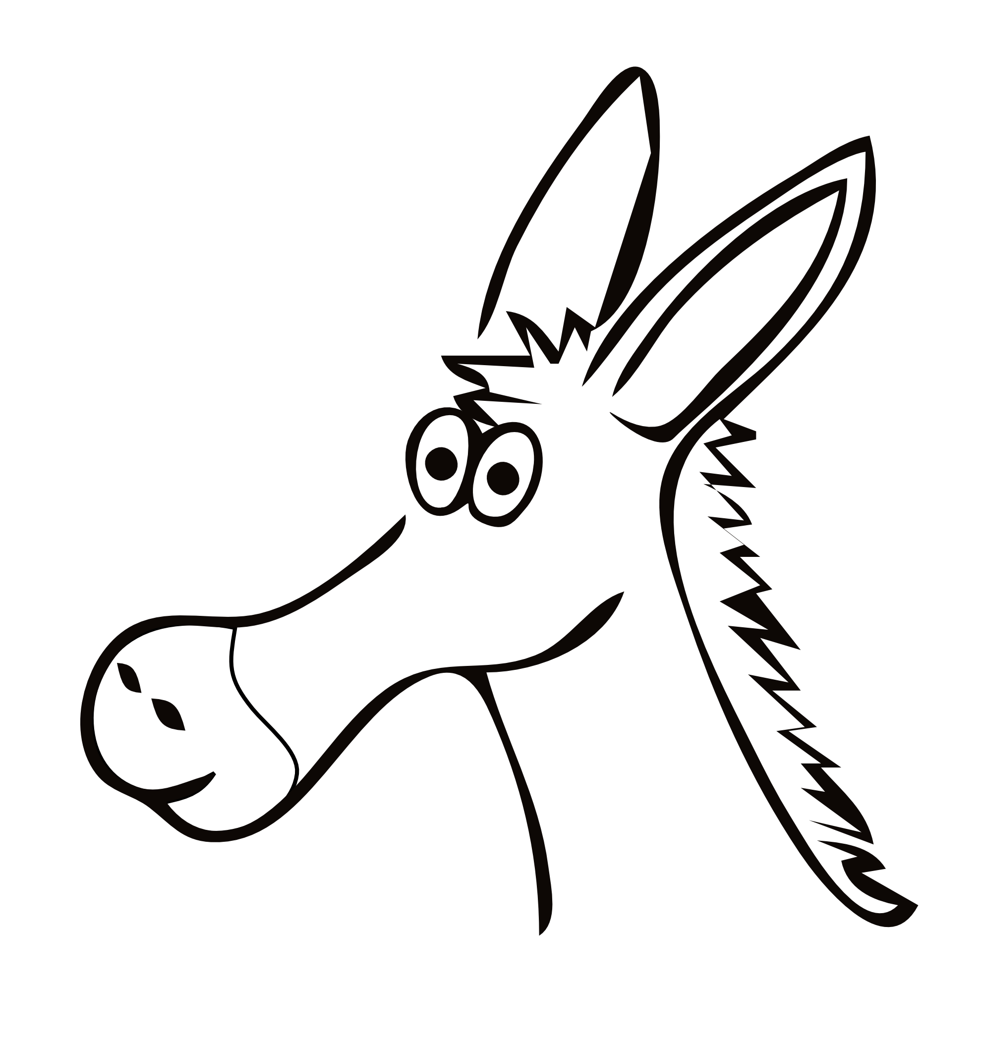 Free Christmas Donkey Cliparts Download Free Clip Art