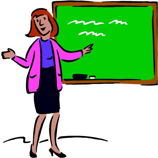 Image result for teacher talking clipart