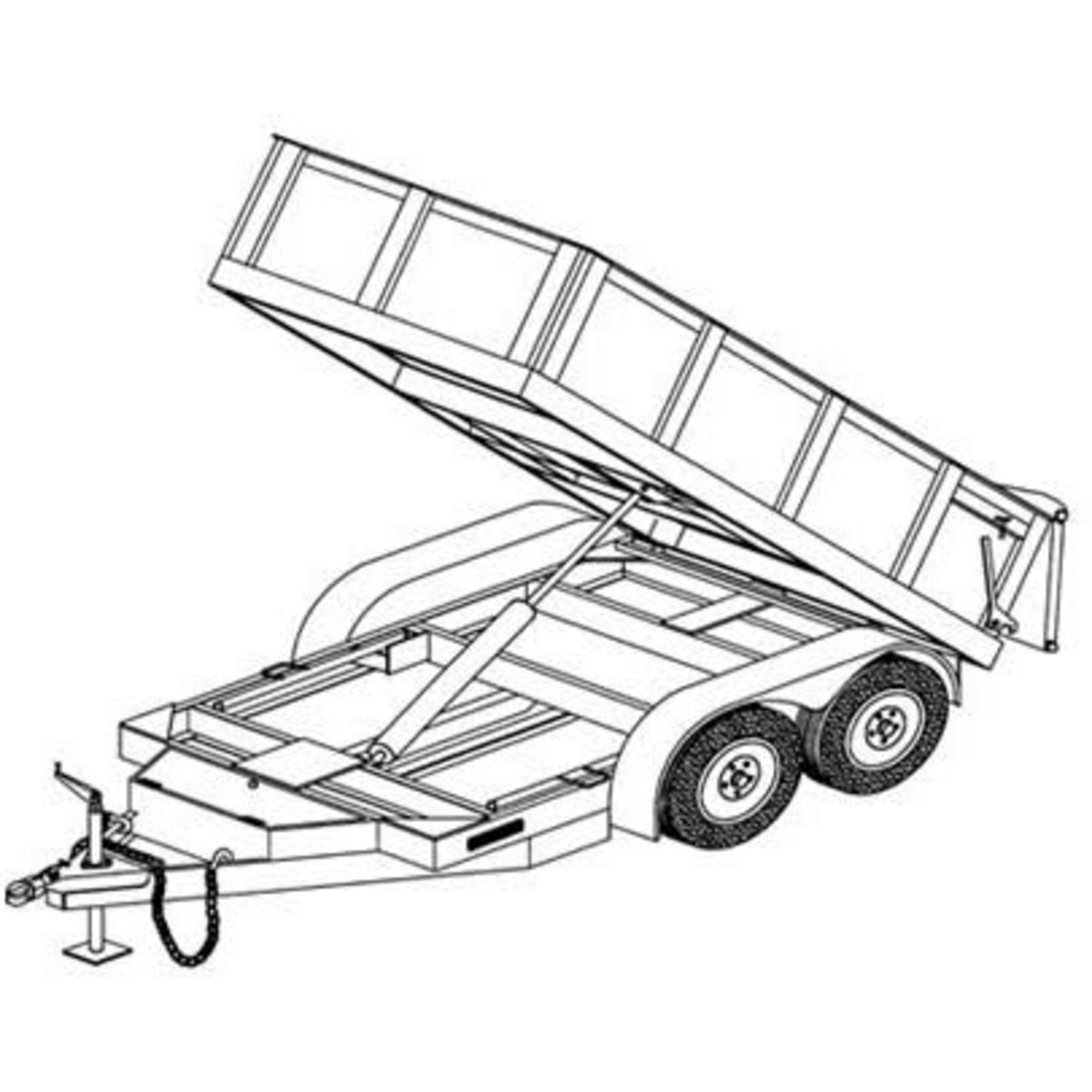 Clipart Container Truck