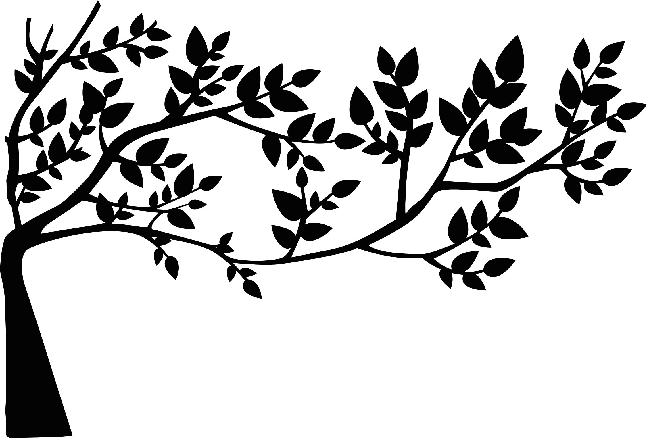 Free Leaf Silhouette Cliparts Download Free Clip Art