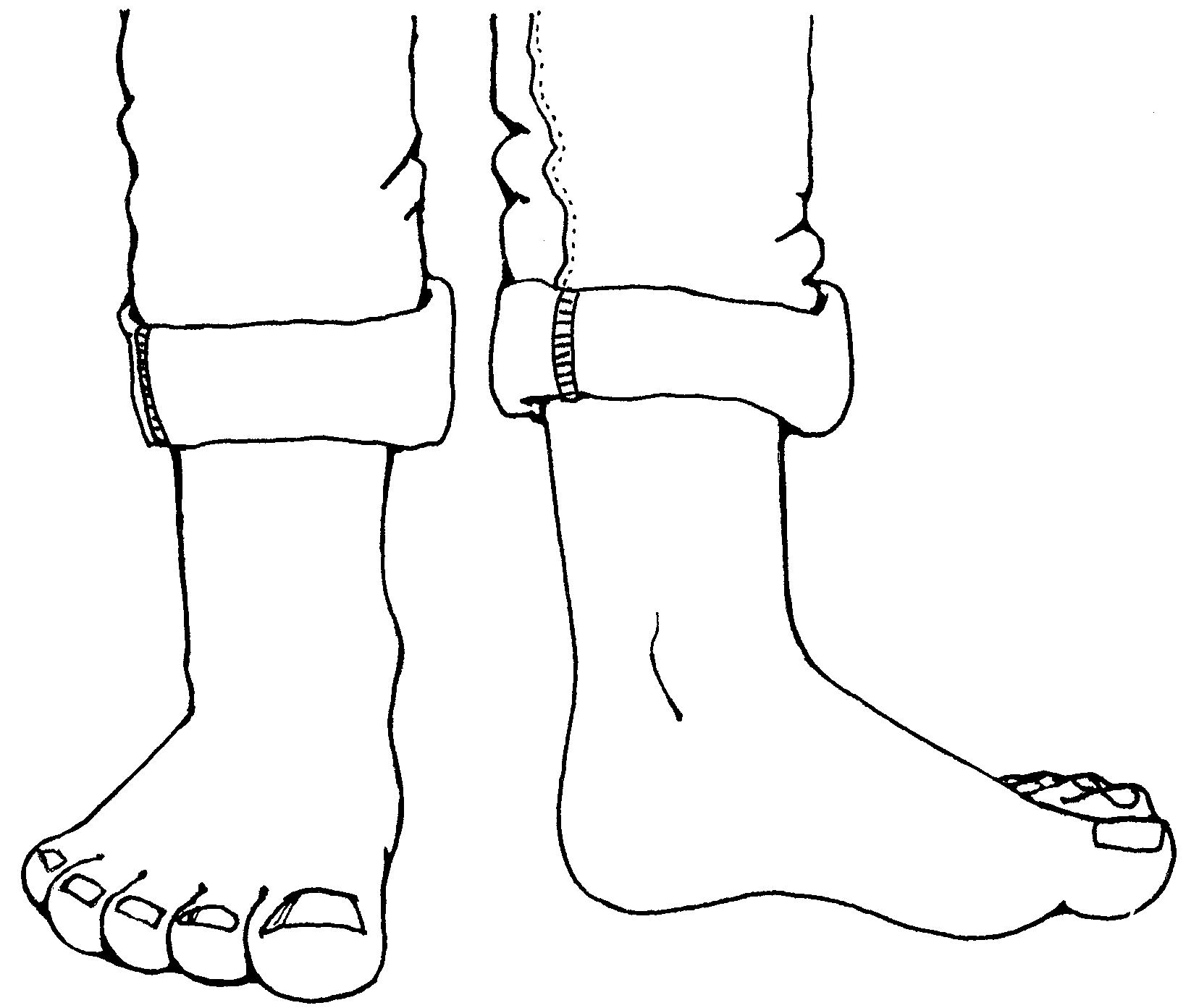 Free Foot Cartoon Cliparts Download Free Clip Art Free