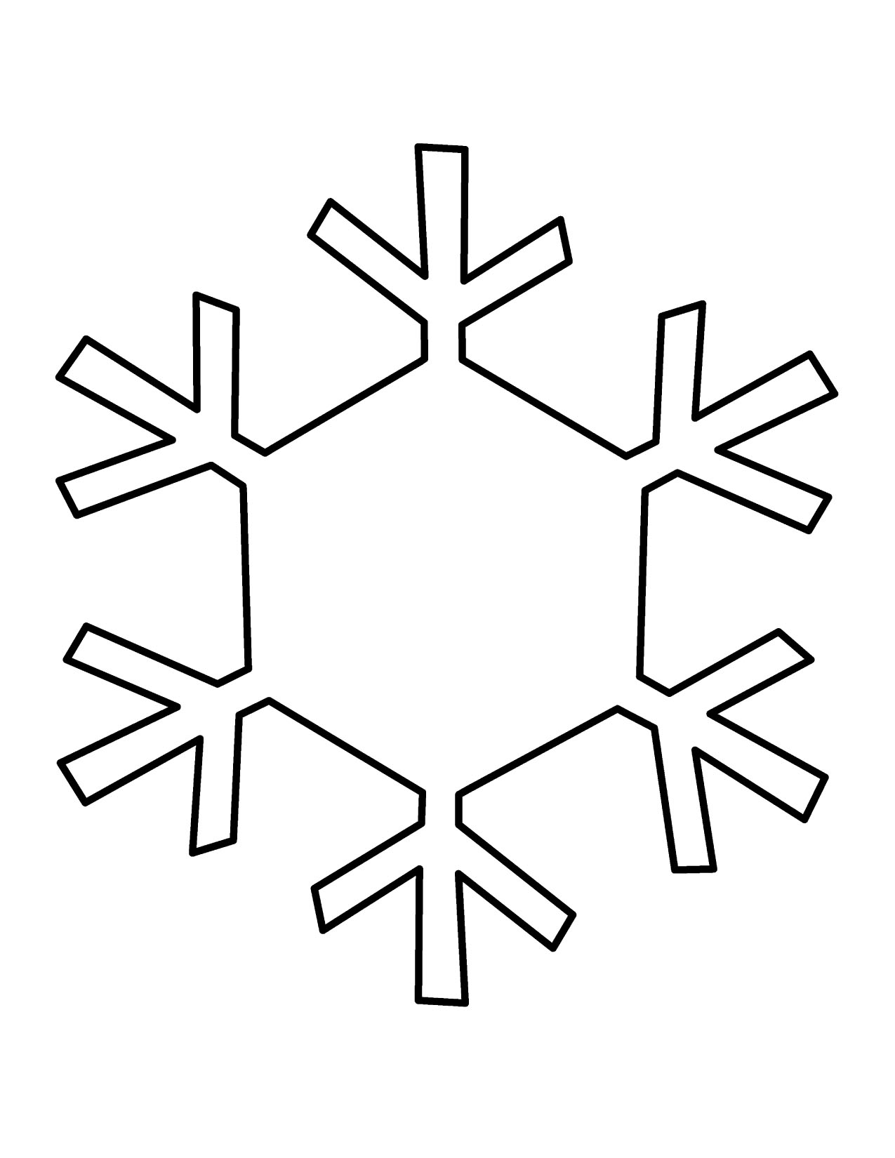 Free Large Snowflake Cliparts Download Free Clip Art