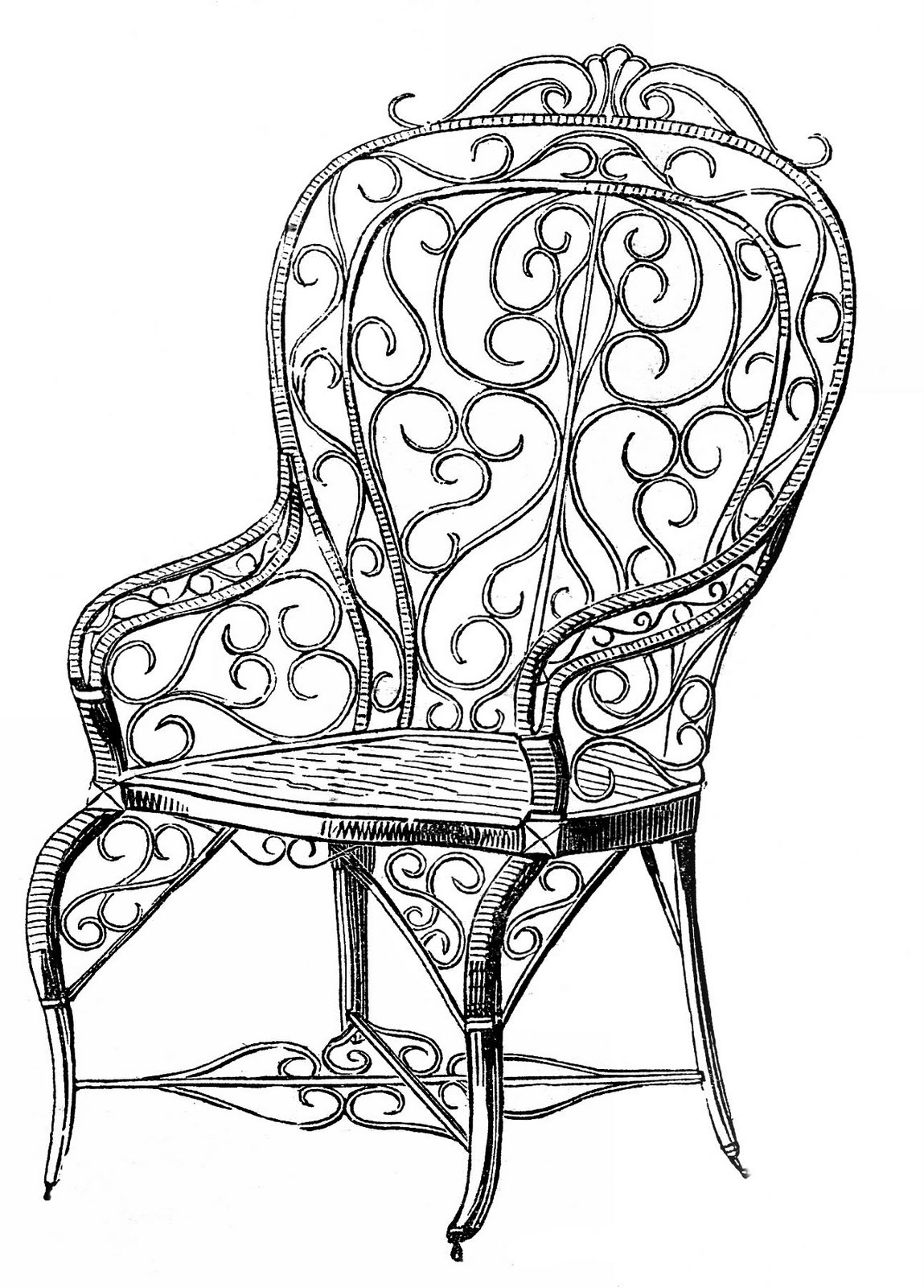 Free Wedding Chair Cliparts Download Free Clip Art Free