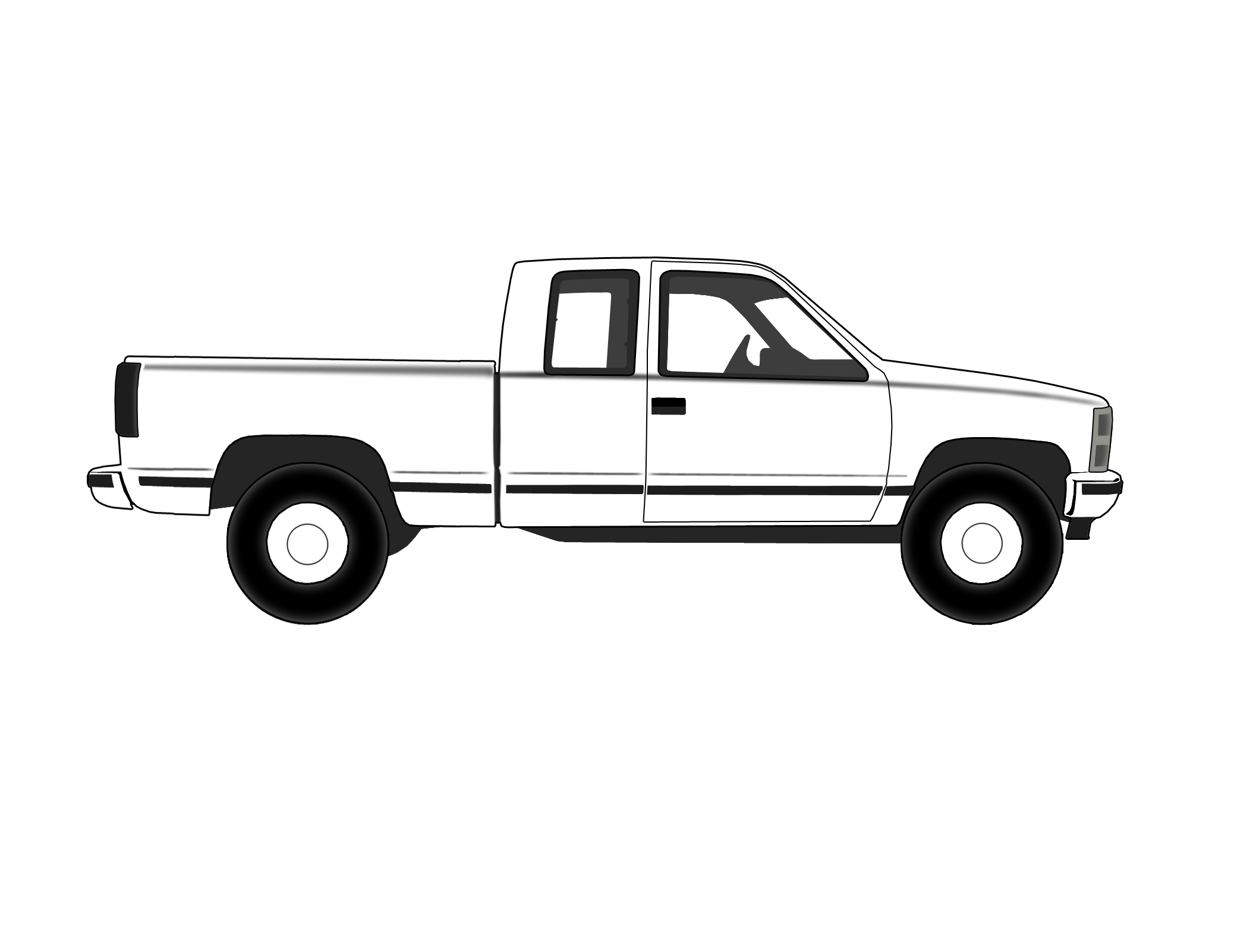 Free Lifted Truck Cliparts Download Free Clip Art Free