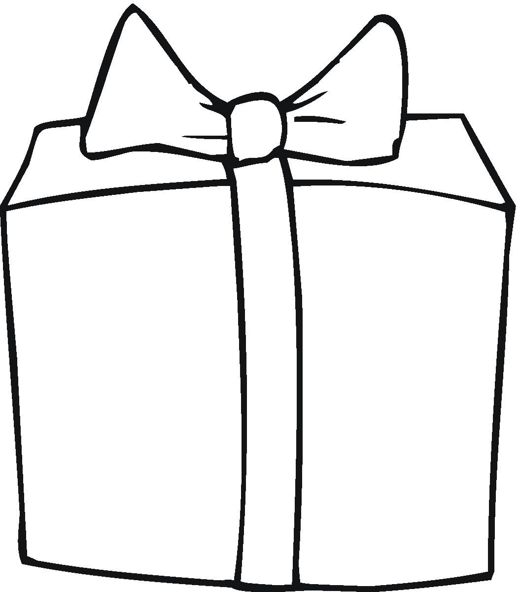 Free Present Cliparts Outline Download Free Clip Art
