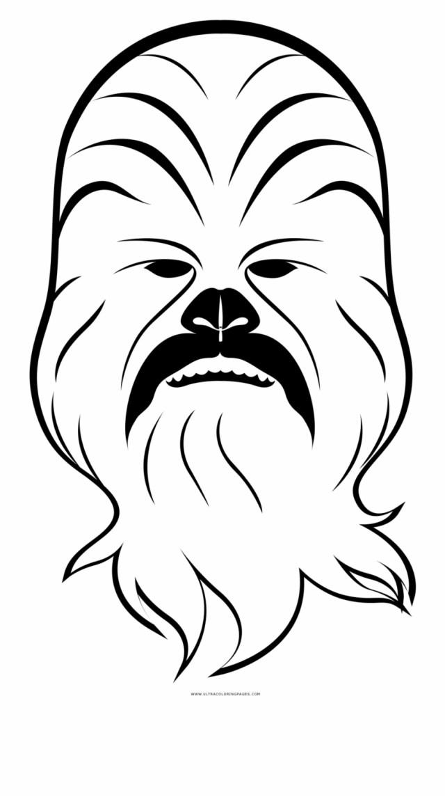 Chewbacca Coloring Page Chewbacca Desenho Para Colorir - Clip Art