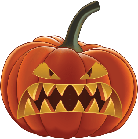 Scary Pumpkin Png Pumpkin Halloween To Print Clip Art Library