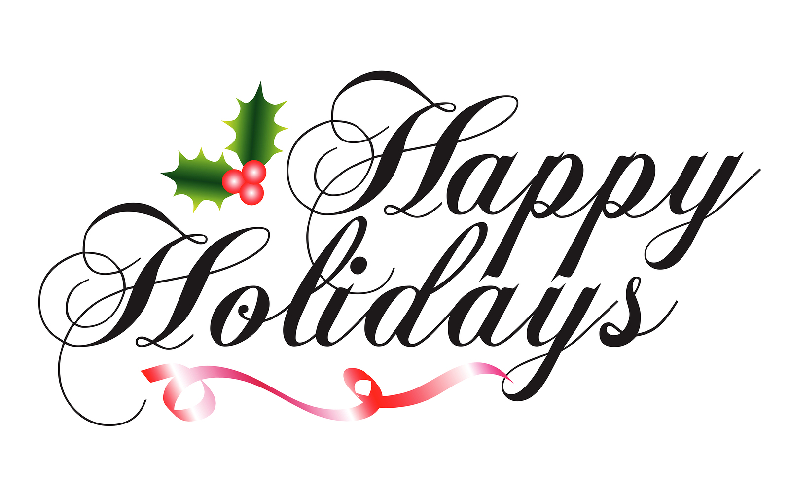 Free Happy Holidays Clipart The Cliparts