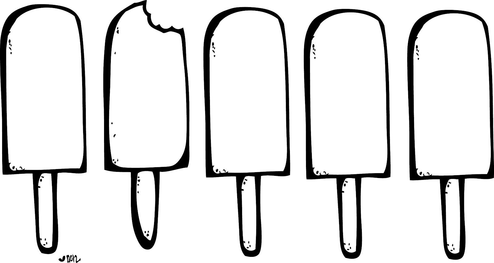 Melting Ice Cream Cone Clipart Black And White