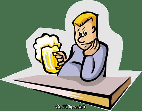 Bildergebnis für schwer alkohol trinken clipart