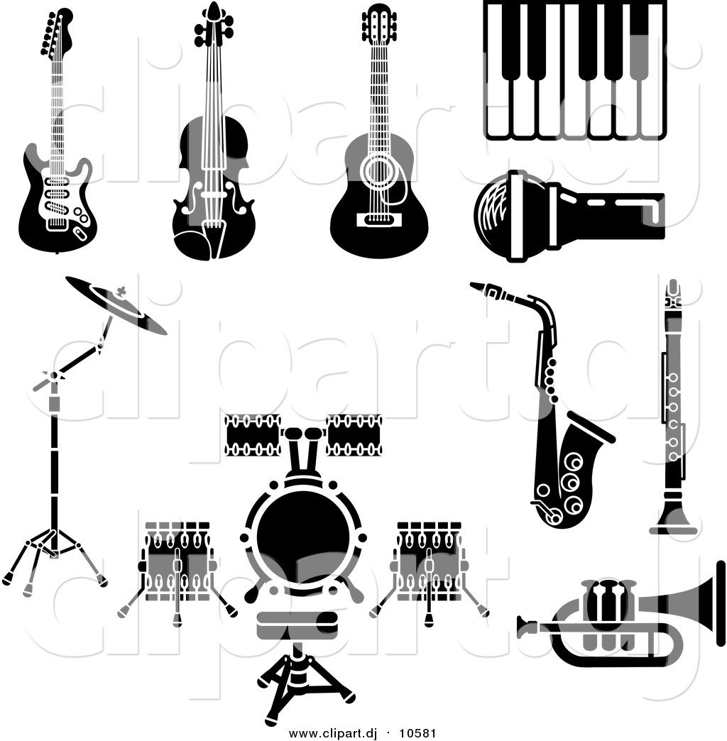 Diagram Of A Clarinet