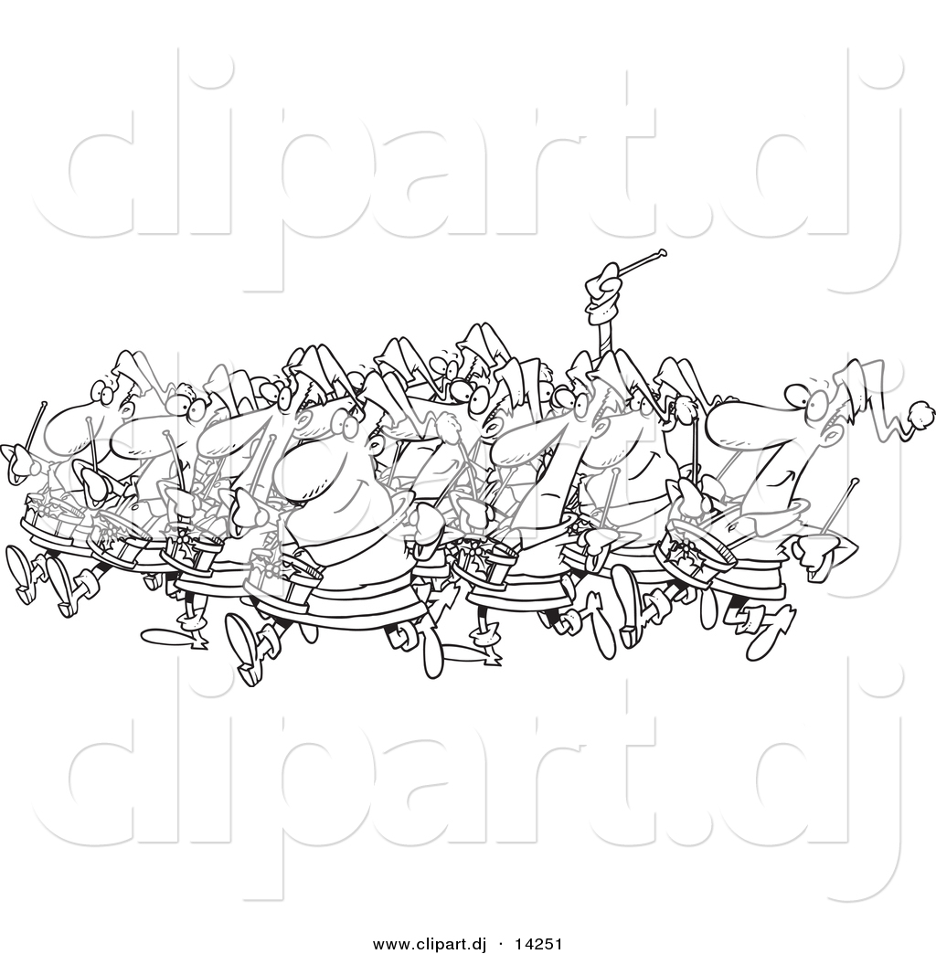 12 Drummers Drumming Coloring Coloring Pages