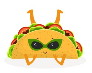 cute taco - Clipart World