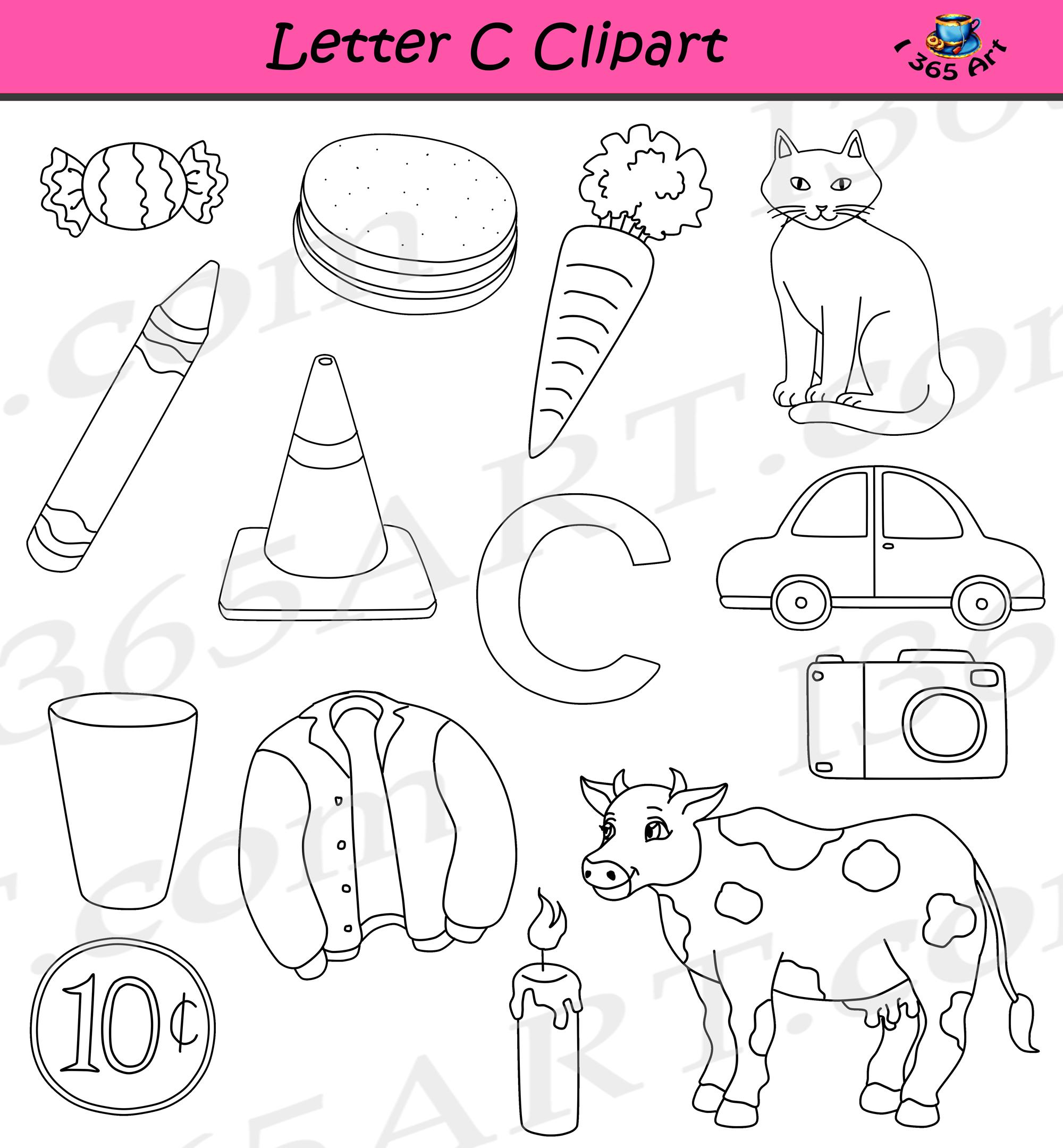 Letter C Clipart