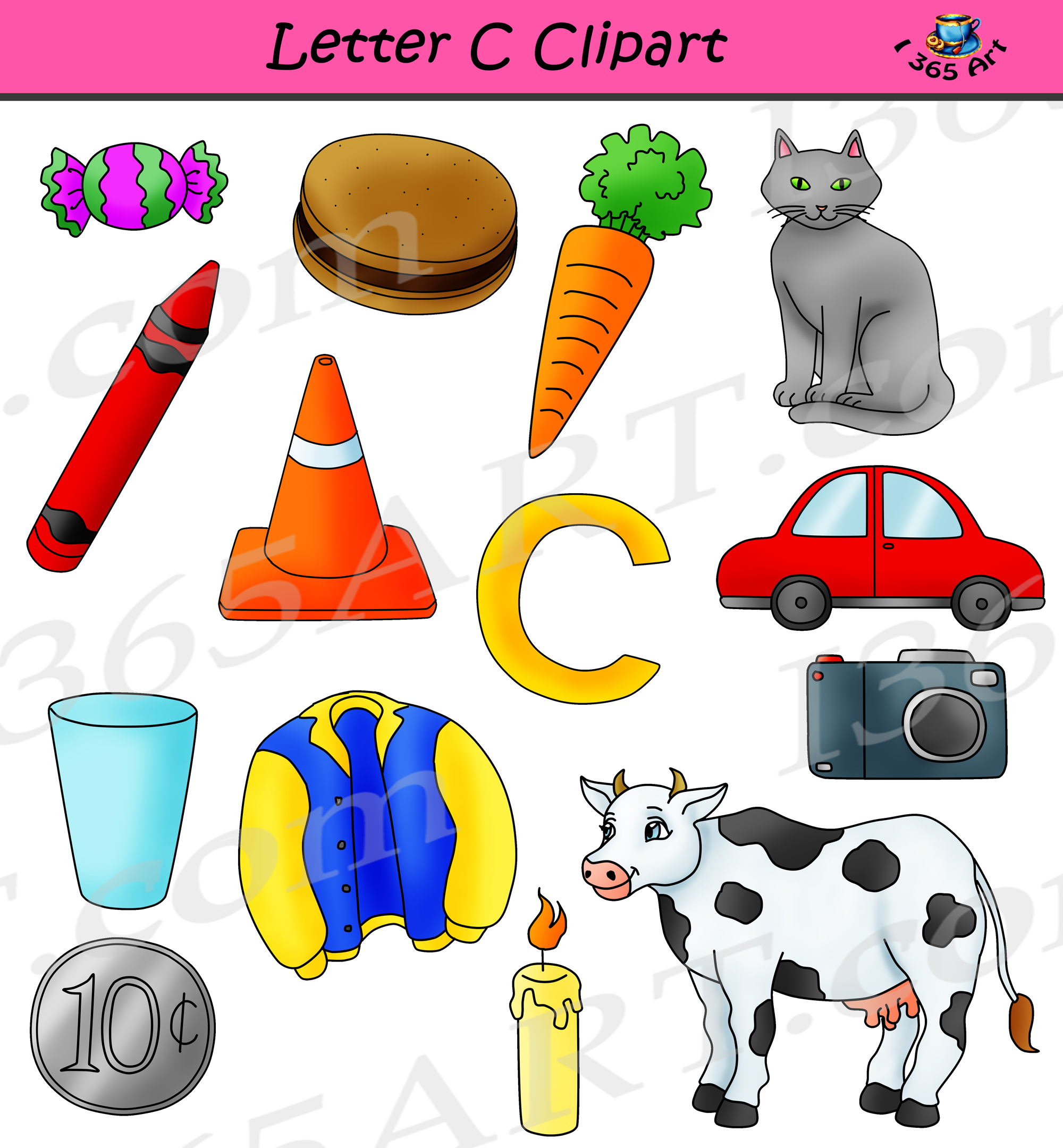 Alphabets Clipart Pack