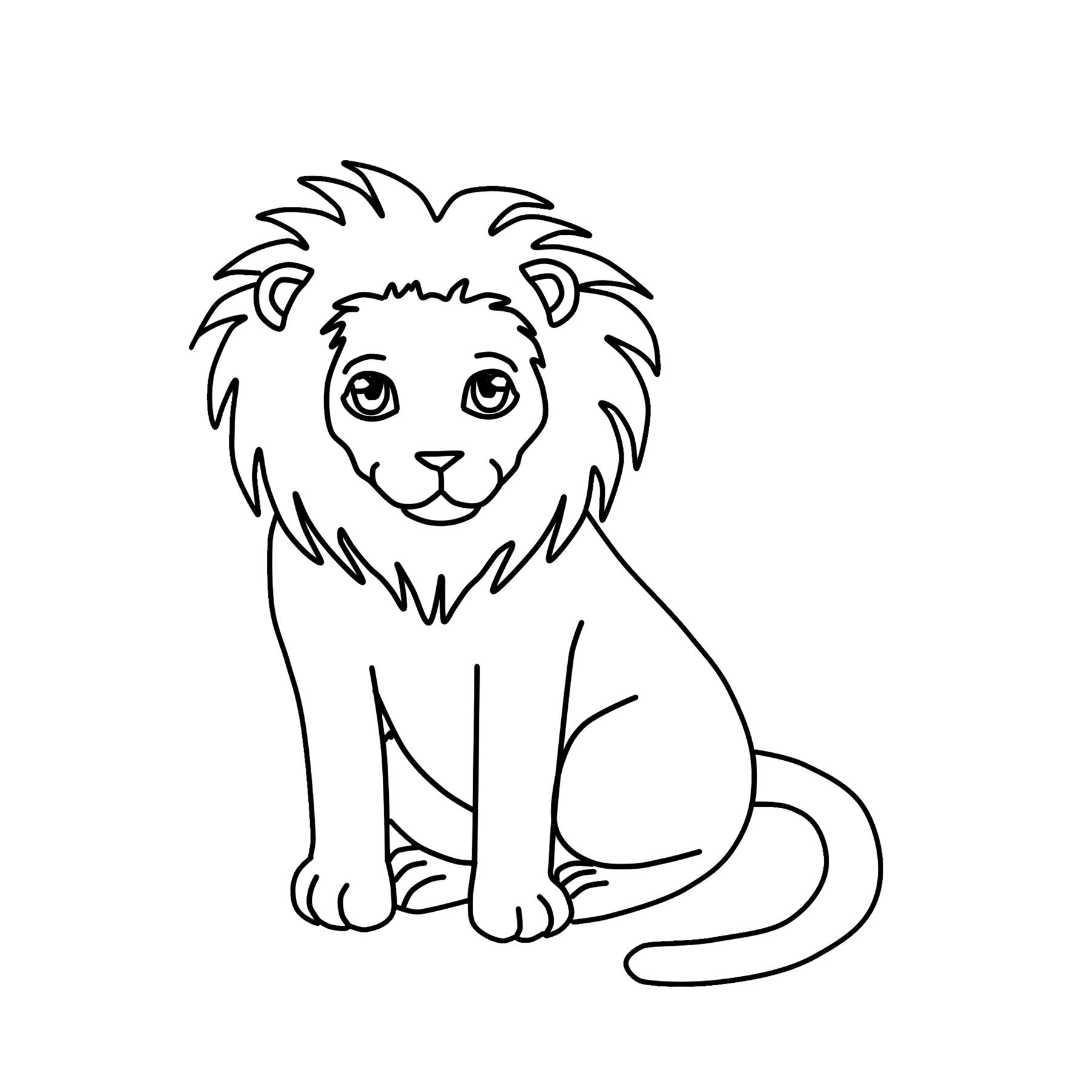 Lion Clipart Clipart 4 School