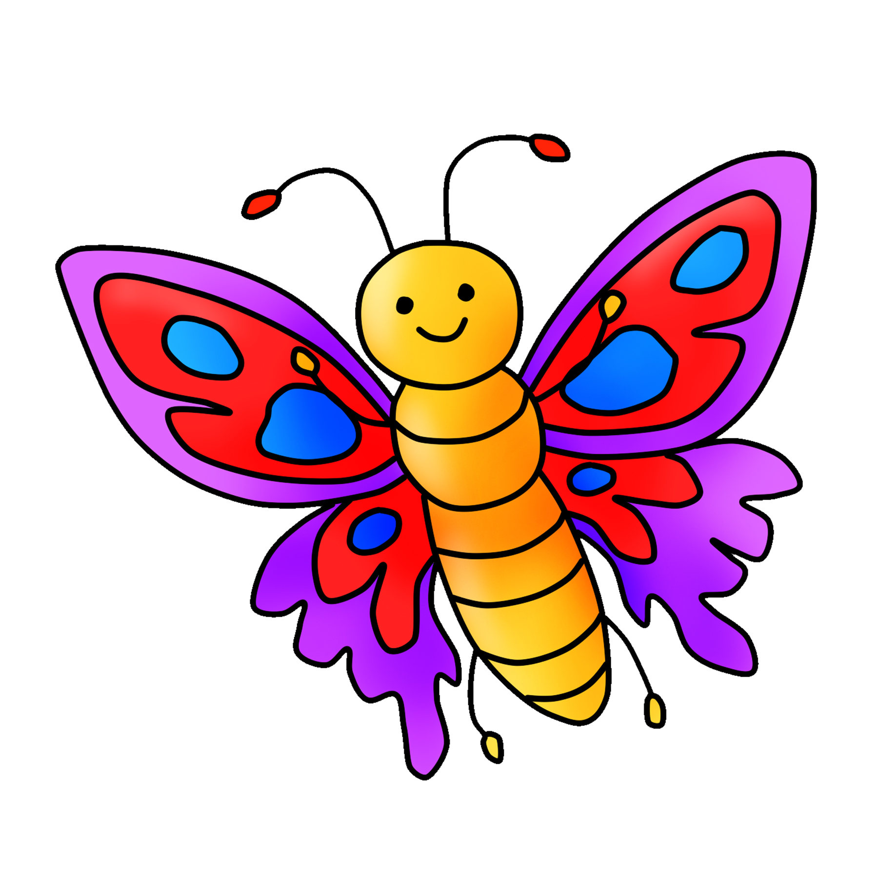 Free Butterfly Clipart Download Clipart 4 School