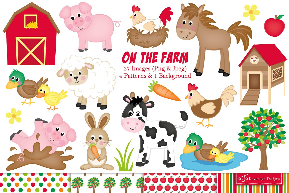 Library Of Farm Animals Clipart Freeuse Library Files