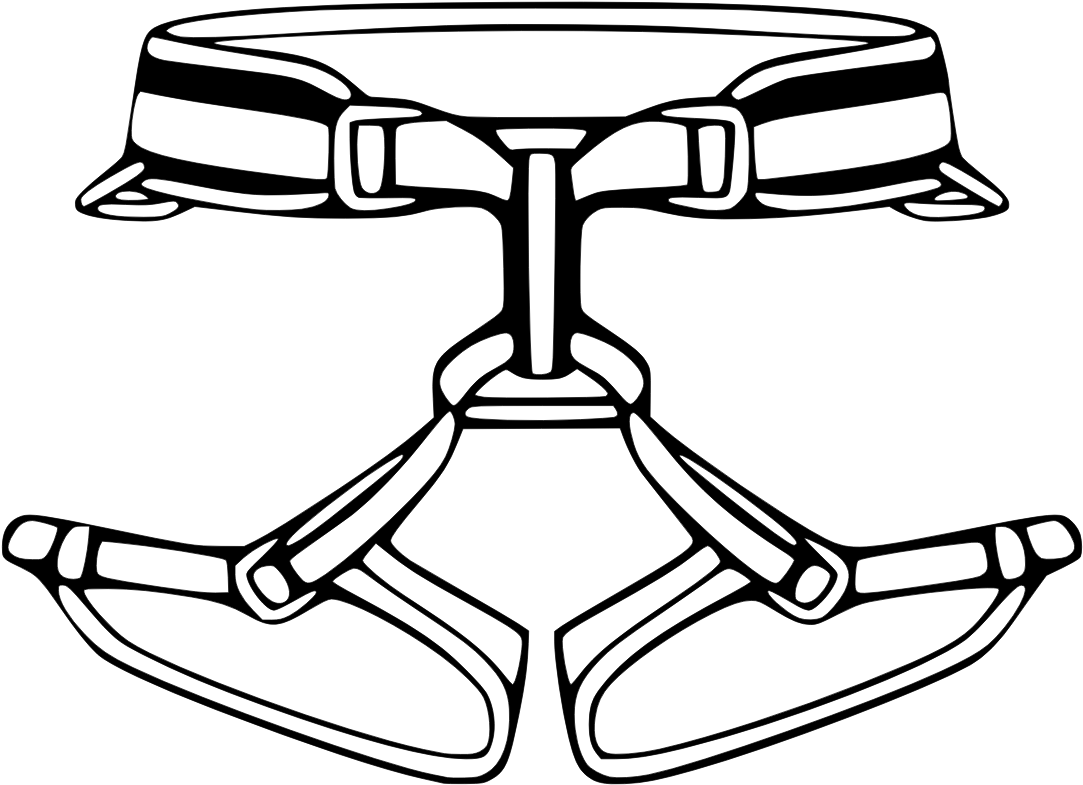 Library Of Climbing Harness Clip Art Transparent Stock