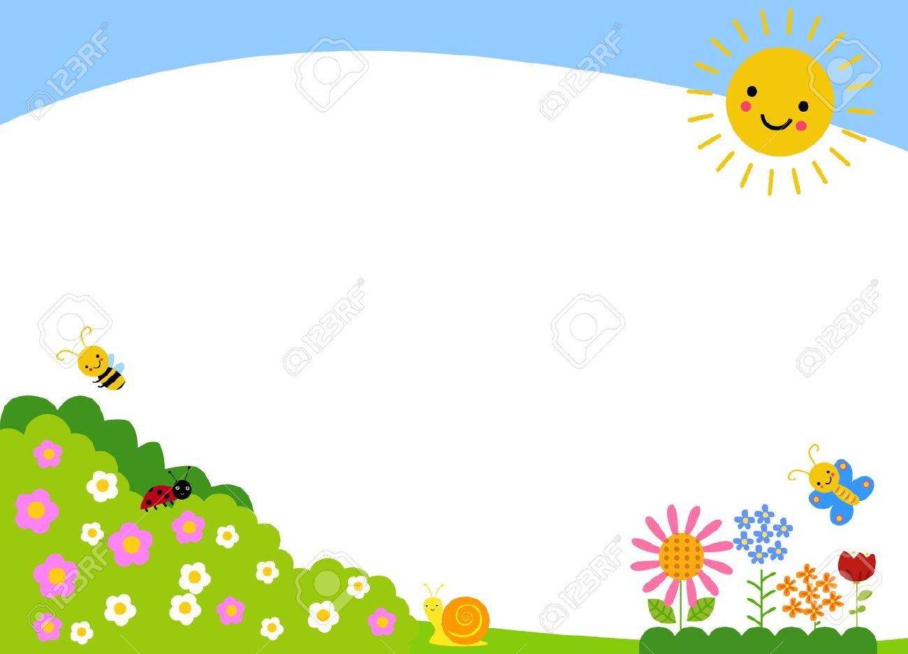 Library Of Clip Library Stock Garden Background Hd