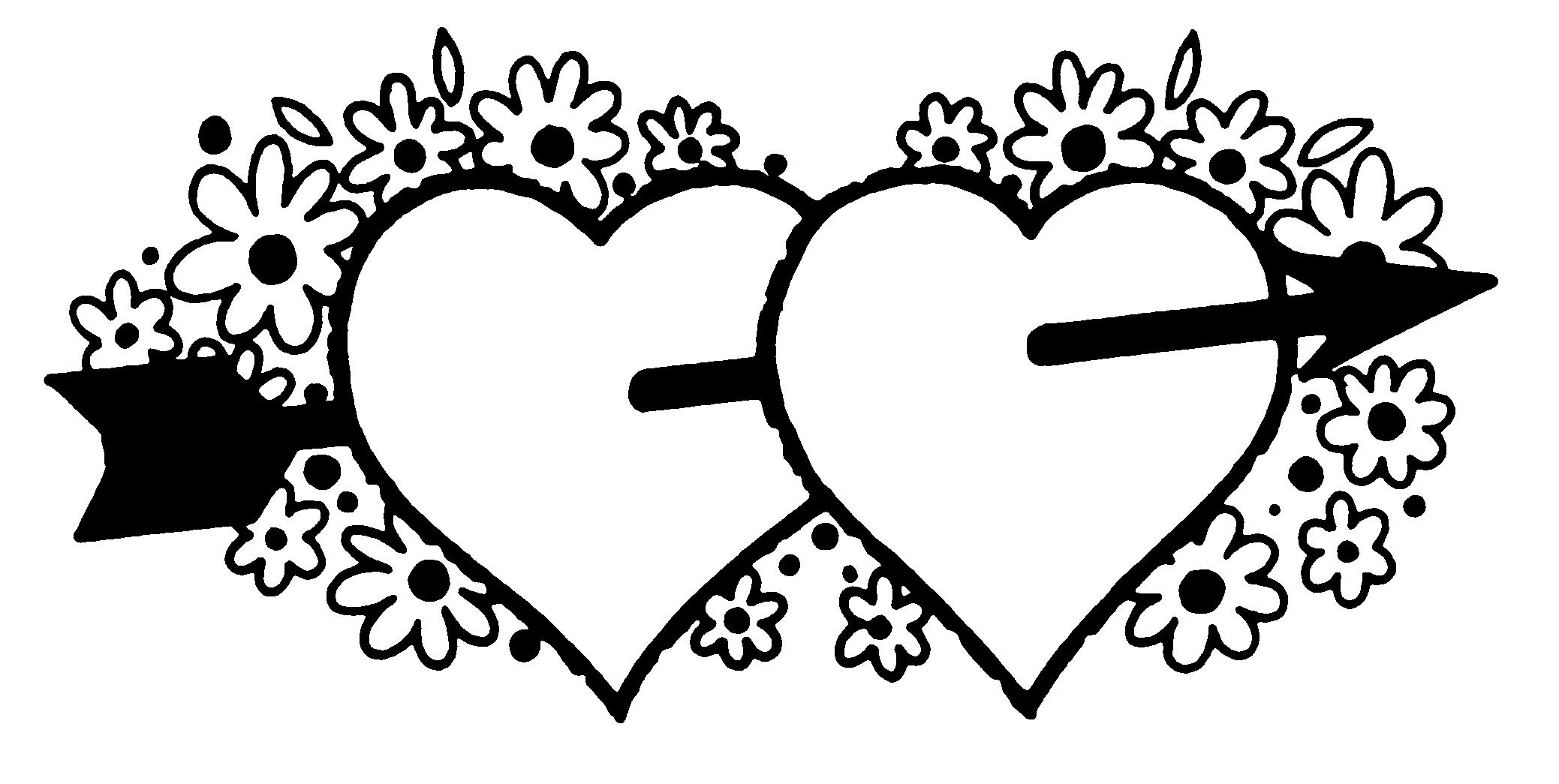 Library Of Valentine S Image Free Download Black Amp White