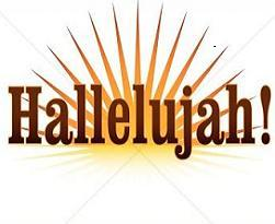 Library of hallelujah png download free png files Clipart Art 2019