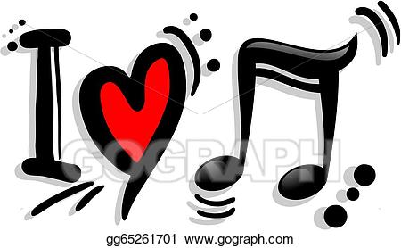 Download Library of i love music freeuse download png files Clipart ...