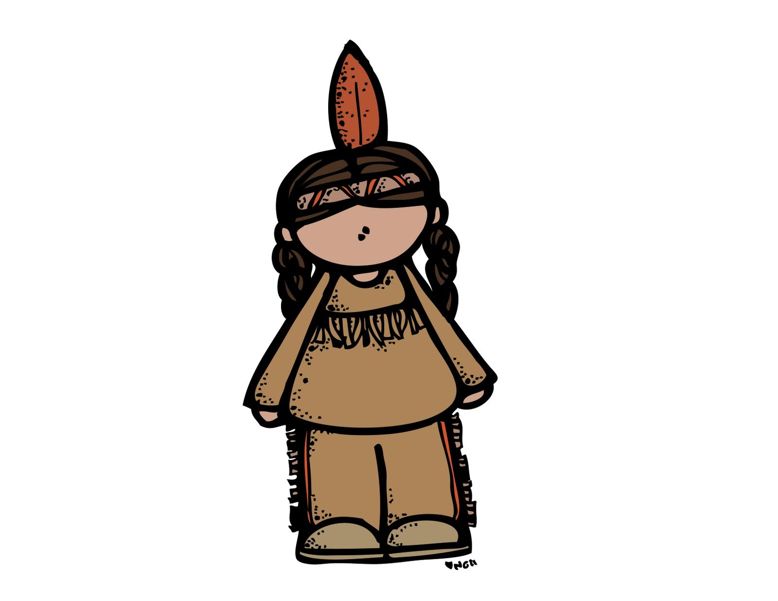 Library Of Pilgrims And Indians Clip Transparent Download