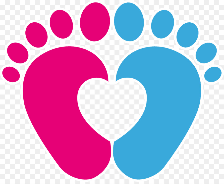Download Library of pink baby feet and heart graphic library ...