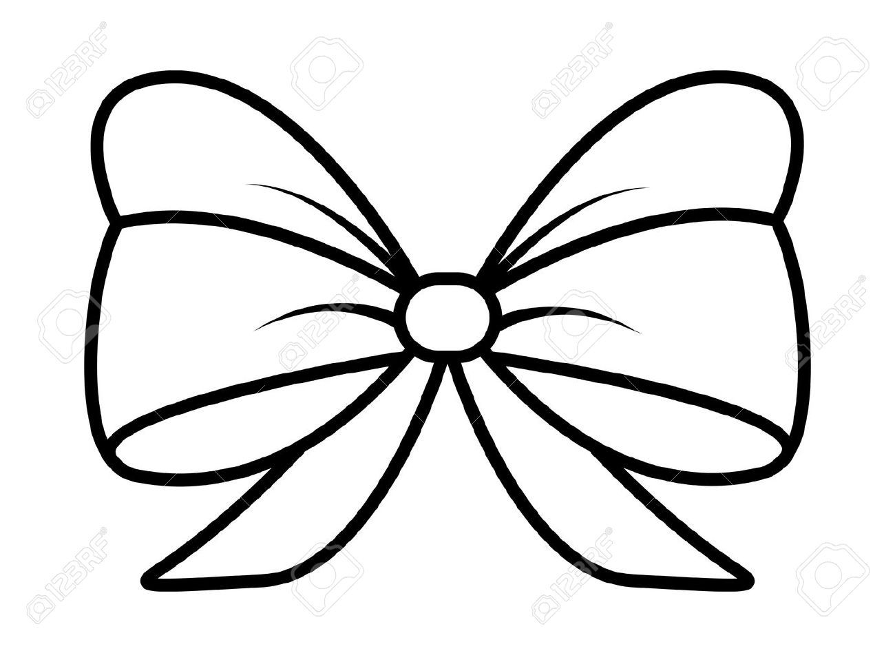 Library Of Ribbon Bow Black And White Library Black