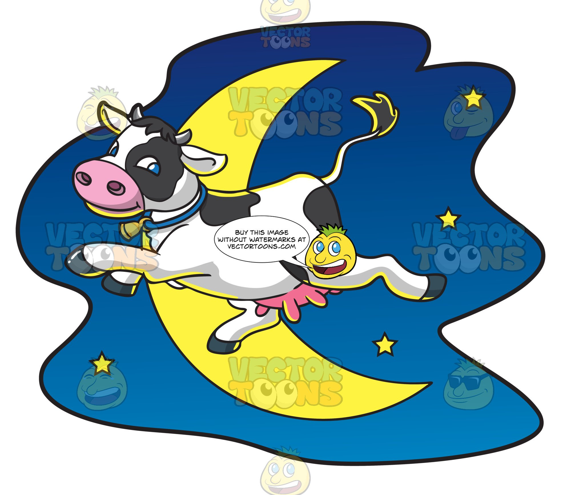 Library Of The Cow Jumped Over The Moon Clip Freeuse