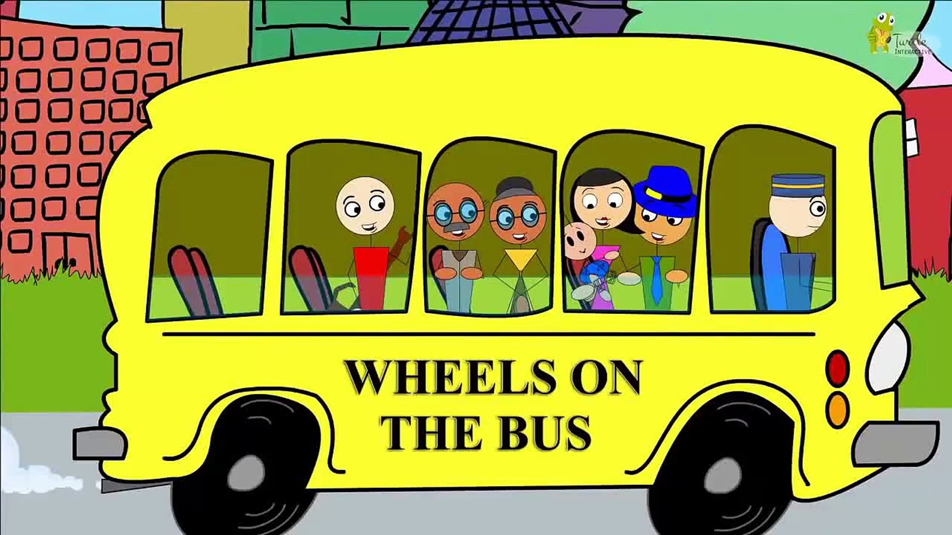 Library Of Wheels On The Bus Clip Art Free Download