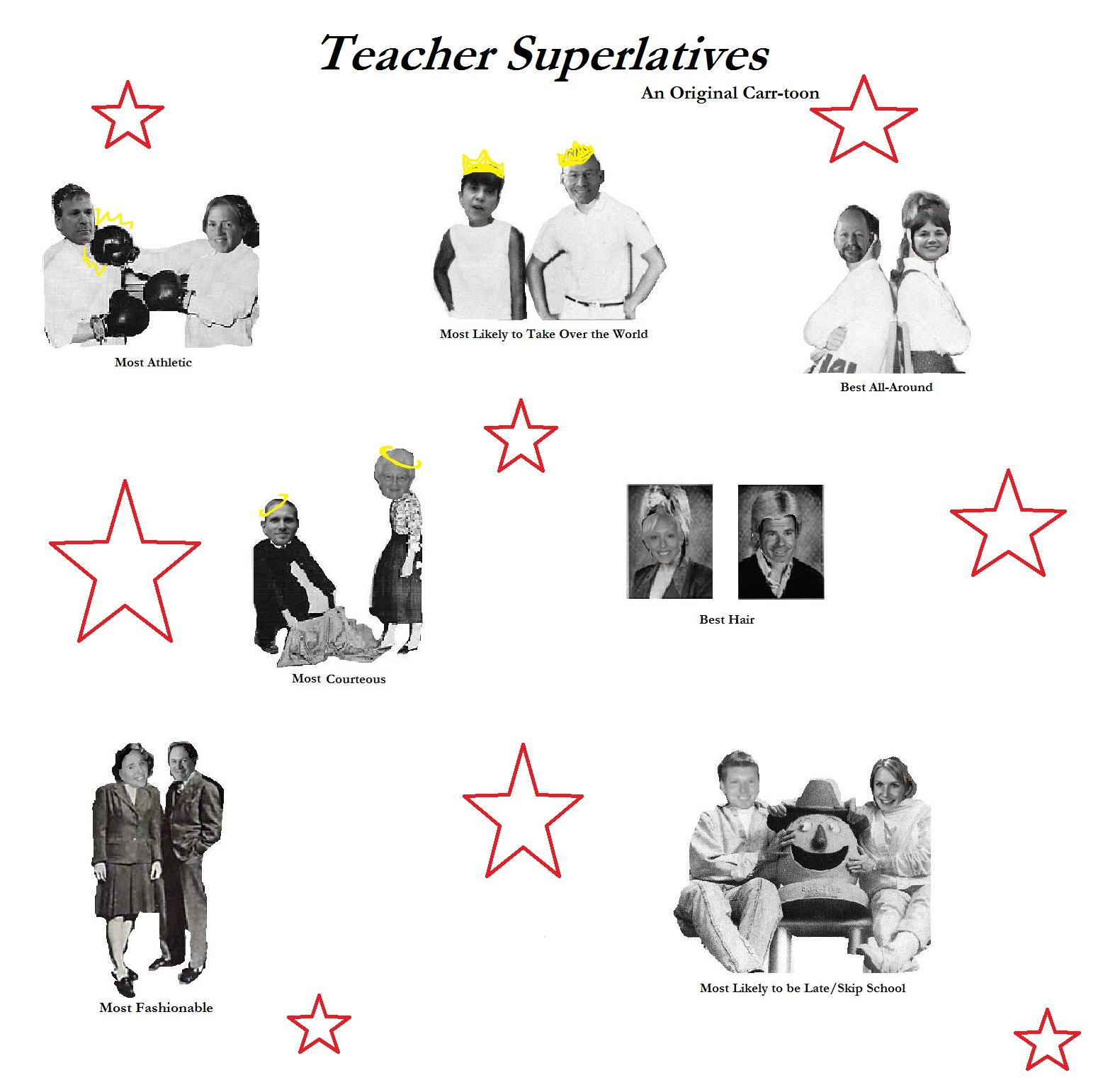 Library Of Yearbook Superlatives Graphic Files Clipart